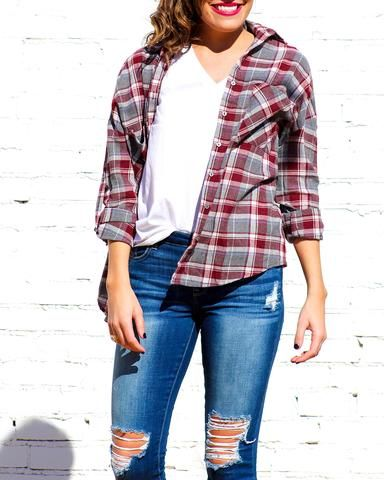 Meet your new favorite flannel! Perfect for your next camping trip, country concert, or just a cozy fall day!