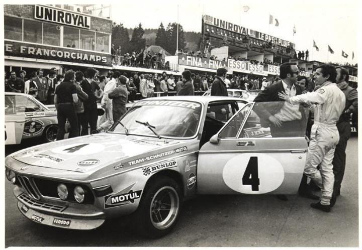 Jacky Ickx Coupes de Spa 1972