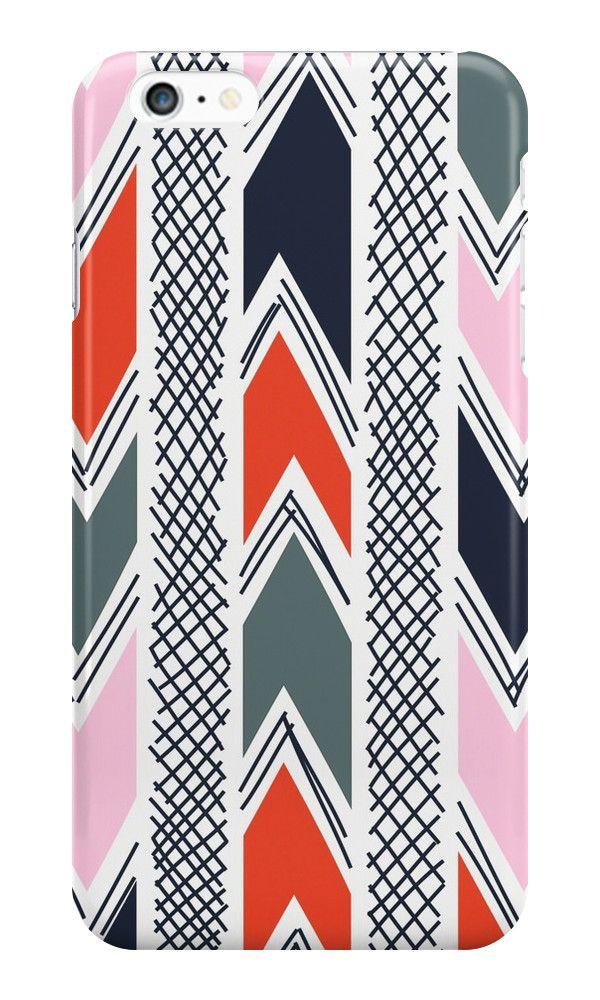 """""""Nuovi etnici"""" iPhone Casi & Skins per SerenaBellini   RedBubble"""