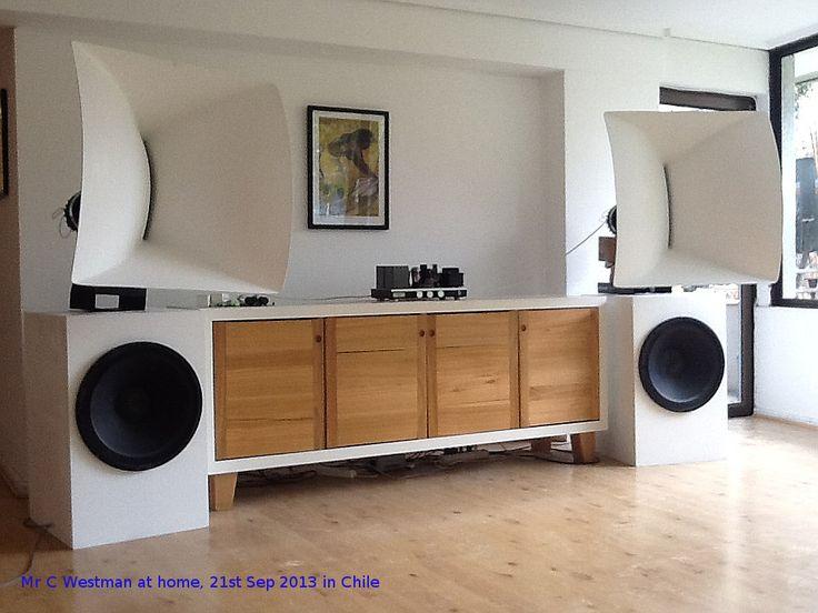 763 best images about hifi on pinterest horns diy. Black Bedroom Furniture Sets. Home Design Ideas
