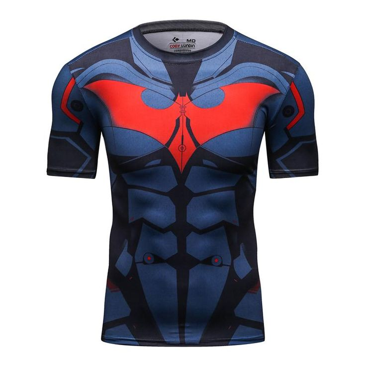 Hombres Fresco Creativo Camiseta Superhéroes Capitán América/Batman Vs Superman Logo Camiseta Culturismo Compresión 3D Camiseta de Impresión en Camisetas de Ropa y Accesorios en AliExpress.com | Alibaba Group