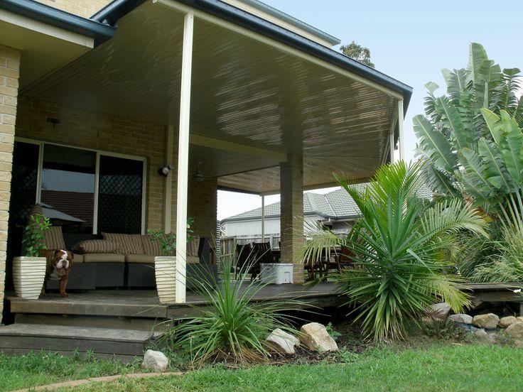 Patio by Panorama Patios #smallspacesolutions #panoramapatios #outdoorliving #patio #patios #stratco