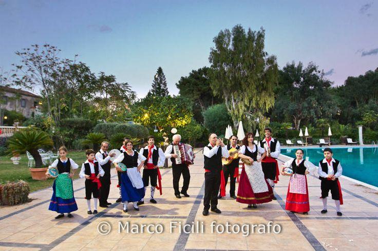 "Sicilian folk dance: ""la Tarantella"""