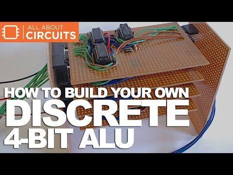 How to Build Your Own Discrete 4-Bit ALU