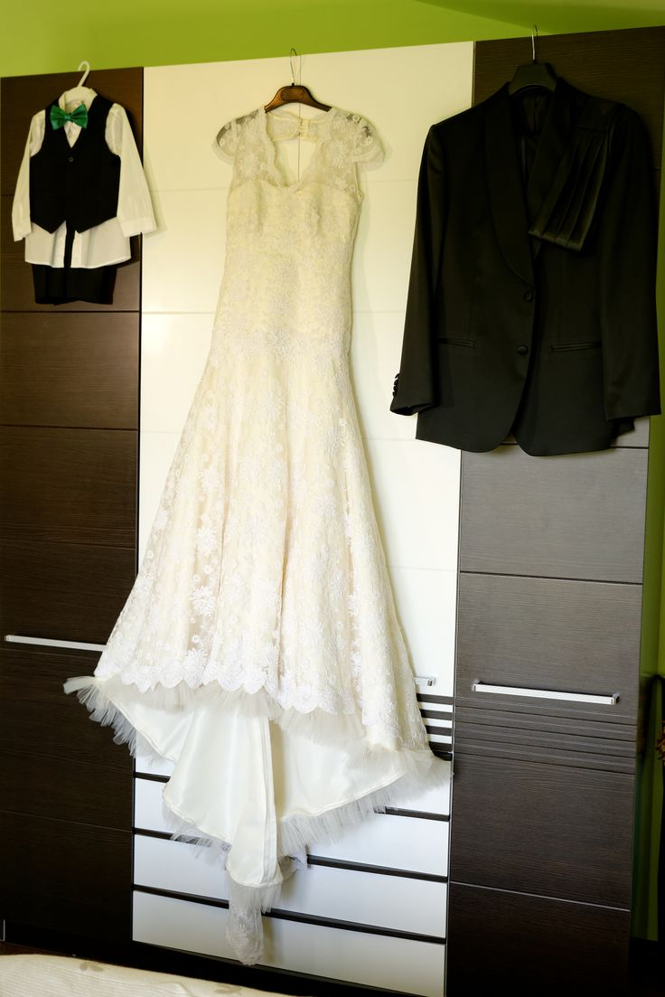 the dress and ....