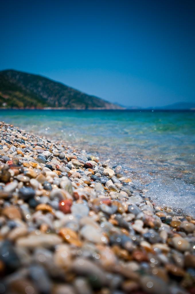 The beach. Alonissos, Greece