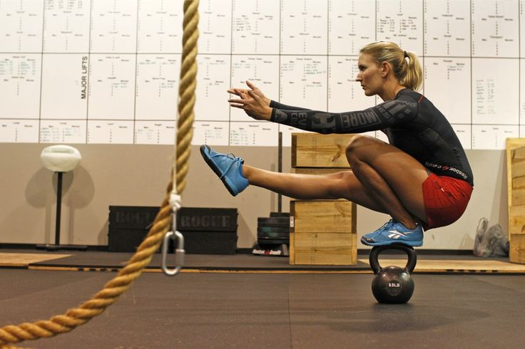 Learning to master the pistol squat