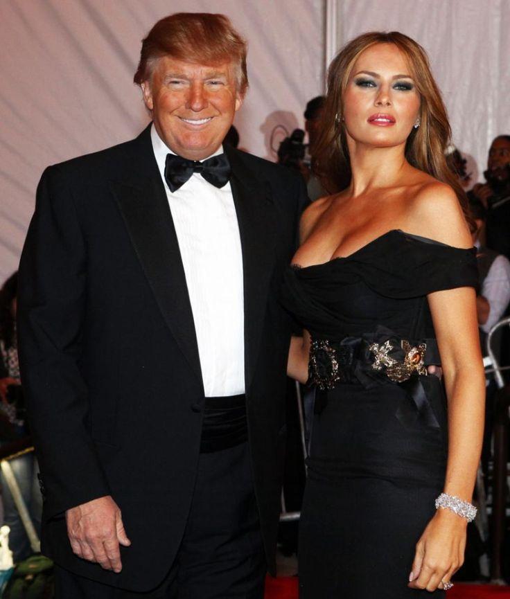 Donald Trump - Melania Trump | Cute Couples | Pinterest ...