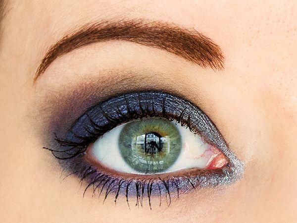 Tuto maquillage - Smoky eye charbonneux façon nuit étoilée