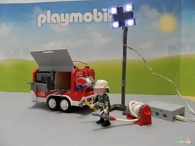 141 best images about klikobil playmobil occasion on - 4x4 pompier playmobil ...