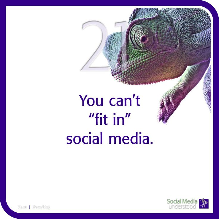 "You can't ""fit in"" social media. Schedule and routine are your new favourite words. With a strategic plan you can know what you're saying and build a foundation. Download 3H eBook Social Media Understood: http://3h.ca/ebook_social_media.php"