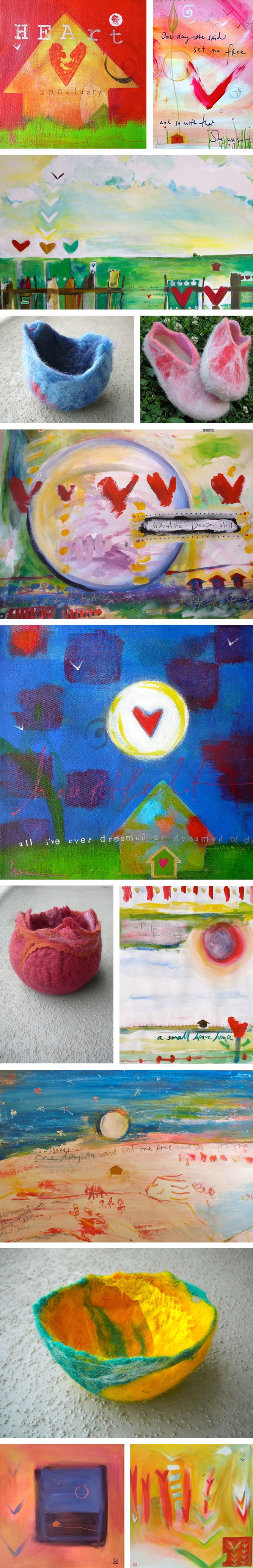 KristinBoettger.com Handmade Collage