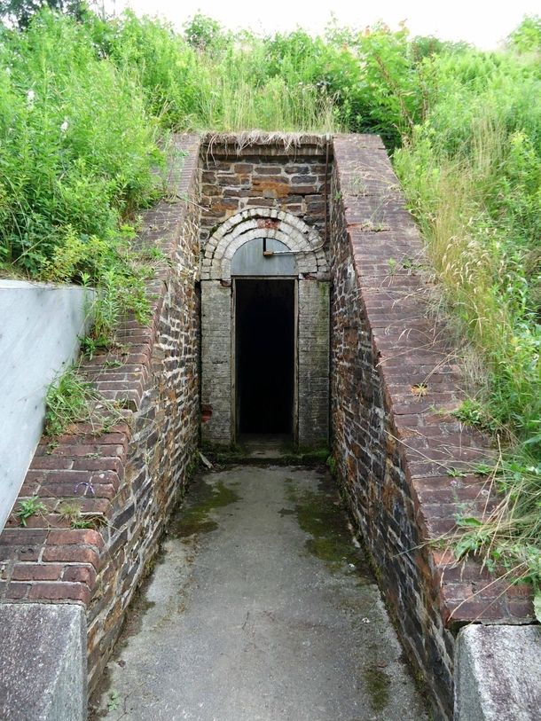 Entrance to the powder battery York Redoubt Halifax NS-I want to go there please