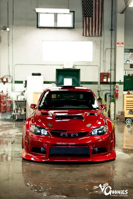 Varis wide body STI by frankcervone, via Flickr