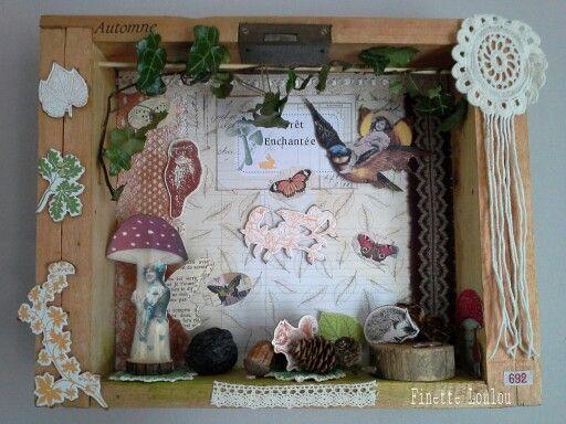 "Composition Diorama ""Automne 2015"" ♡"