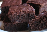 flourless, sugarless, low carb, high protein chocolate brownies