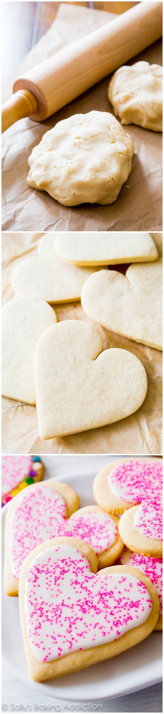 The BEST Cut-Out Sugar Cookies. Soft centers, slightly crisp edges ...