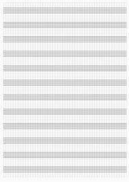 Нотная бумага для печати (PDF)