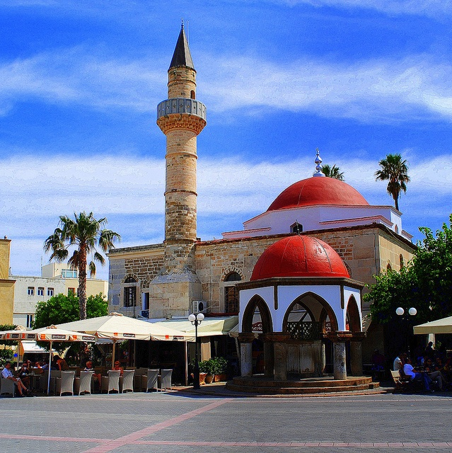 GREECE CHANNEL | Defterdar Mosque - Kos    this Mosque do not operate today but remain  the historical and architectural landmark of the  Ottoman past of the island -  Kos City - Island of Kos - Greece