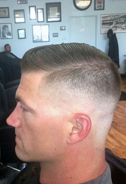 Military Haircut Ideas Fade