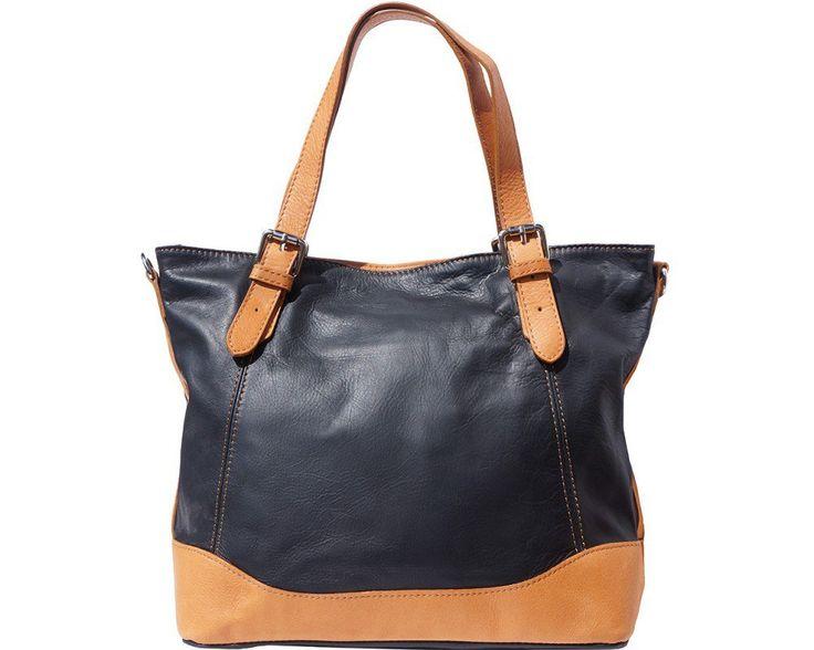 Luxusní kožená kabelka přes rameno nebo do rujy Florence Alissa.