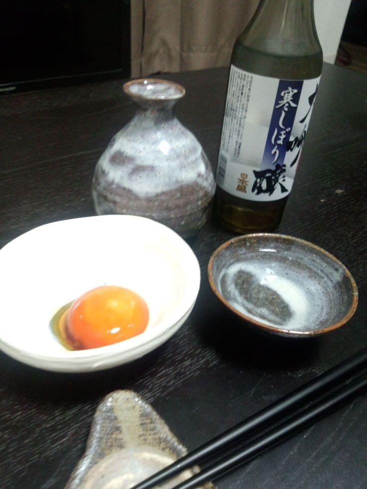 日本盛 大吟醸寒しぼり http://sakeandpottery.hatenablog.com/entry/2013/12/04/101132