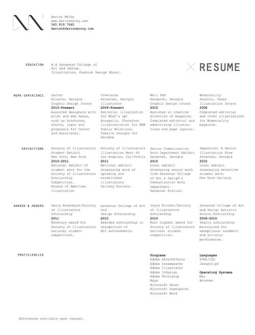 14 best images about Resume on Pinterest - example of modern resume