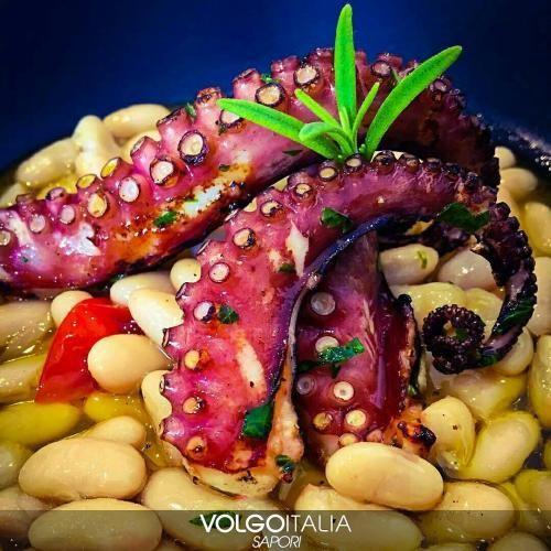 Cibo: #Polipo #verace #arrosto su zuppetta di cannellini pi... (volgosapori) (link: http://ift.tt/2bYJr3W )