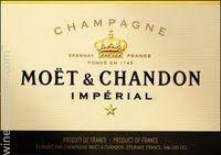 Moet & Chandon Brut, Champagne, France label