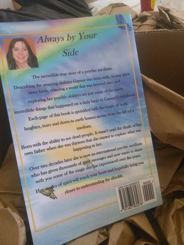 always by your side, back cover.