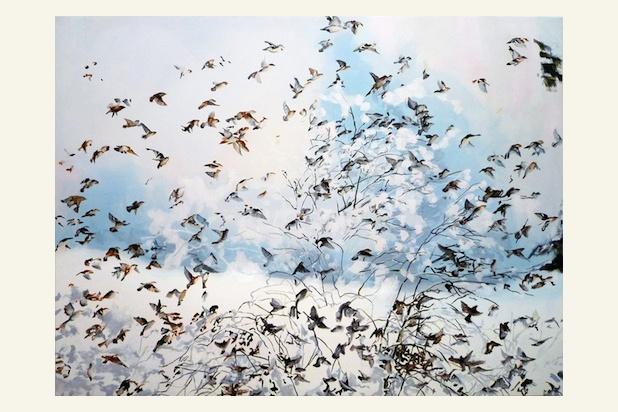 Loving this painting by Tamara Piilola