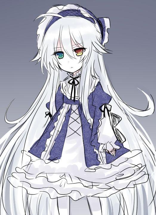 Anime Characters Yellow Eyes : Anime heterochromia odd eyes green yellow