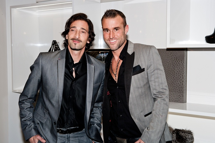 #AdrienBrody and #PhilippPlein at our Store Opening in Düsseldorf #celebs