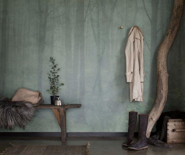 """Tapet """"Skog"""" från Sandberg"""