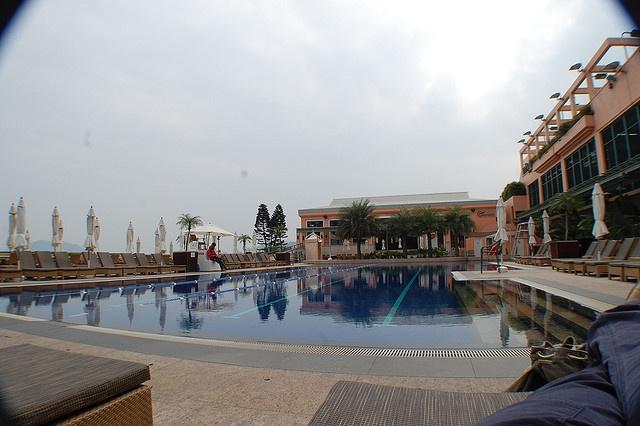 Poolside, American Club, Tai Tam, HKG