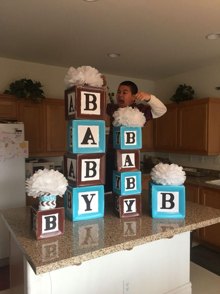 Diy tissue pom pom backdrop - 14 Best Images About Baby Shower Building Block