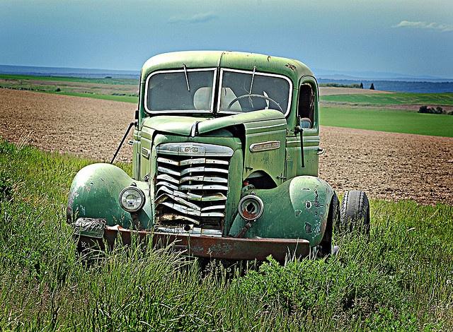 vintage green