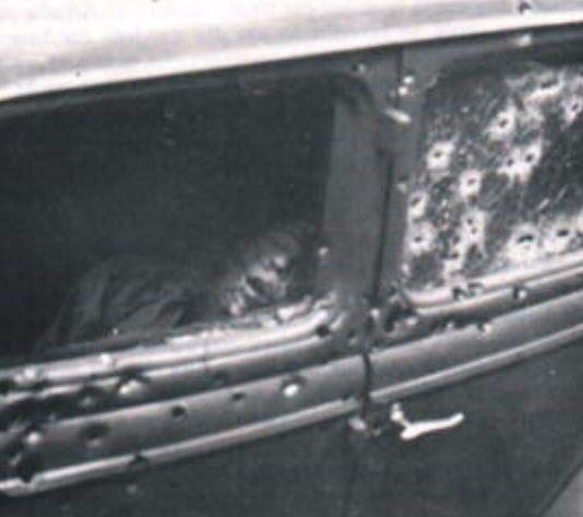 ambushed car