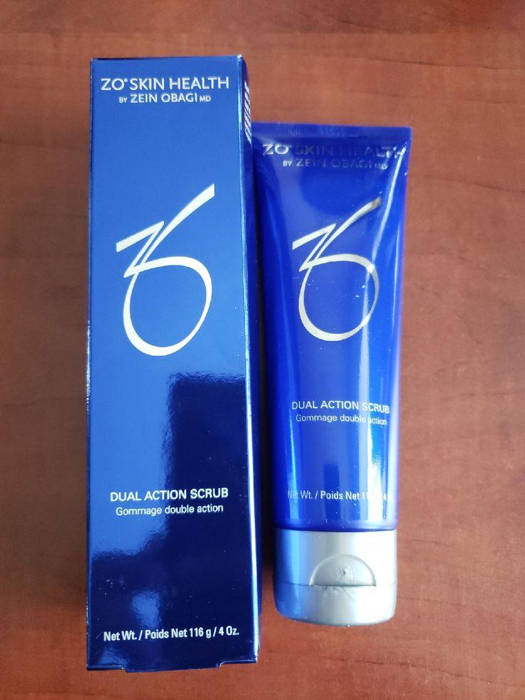 Zo skin health dual action scrub 4oz New in box Expires 8