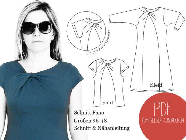 91 best Schnittmuster images on Pinterest | Kleidermuster ...