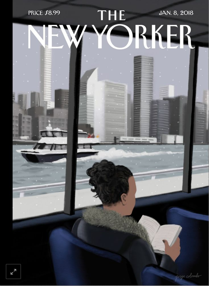 """At rush hour, there's intense traffic, and it's very busy. But in the middle of the day the East River Ferry can be a refuge, a secret hideaway, a sanctuary,"" Jorge Colombo says, about the ride he drew for this week's cover. Colombo, the first artist to draw New Yorker covers on an iPhone, now crafts his work on the much larger iPad, and he's still intent on using digital, portable tools to capture unusual views of the city."