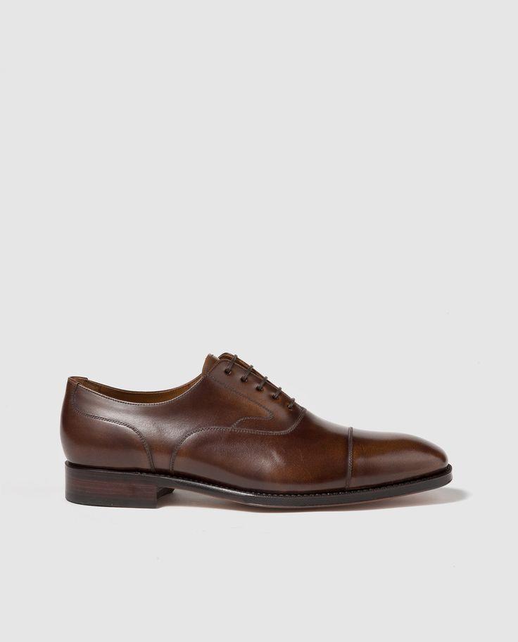 Zapatos de vestir de hombre Yanko en piel de color marrón · Yanko · Moda · El Corte Inglés