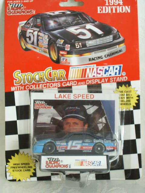 Rare 1994 Racing Champions #15 Lake Speed Ford Quality Care Thunderbird 1:64 #RacingChampions #Ford