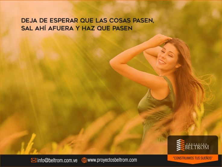 "#Frase de #Dia  Ingresa en: http://ift.tt/2pcw9de ""Deja de esperar que las cosas pasen sal ahí afuera ya haz que pasen""  #contuccion #casa #house #home #hogar #nuevaesparta #vlencia #ventas #nuevo #familia #inversion #hoy #sabiasque #venezuela #panama #miami #moderno #construction #civilengineering #today #ingenierocivil #ingeniero #engineer #engineering #civil #work #construcaocivil ManejoDeRedes@nahaweb"
