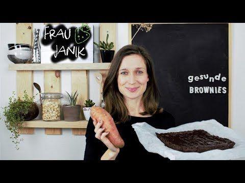 Gesunde Süßkartoffel Brownies- Keine Butter, Eier, Haushaltszucker & Weißmehl... die perfekten und leckersten gesunden Brownies!