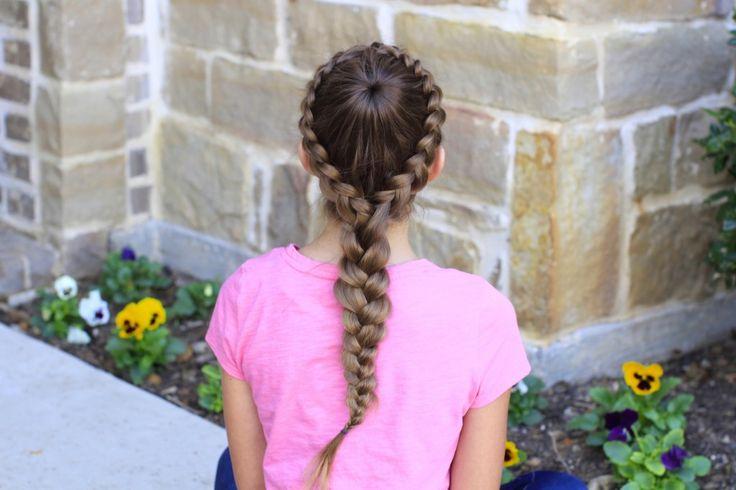 Dutch Starburst Braid   Hairstyles