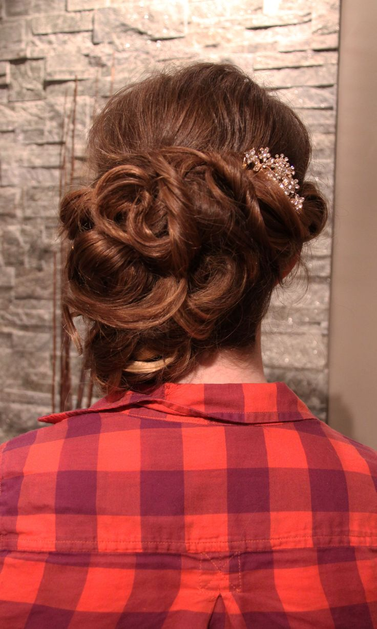 Up-style for prom 2014 at Fortelli Salon & Spa Mississauga! Thanks Nicole for the photography.