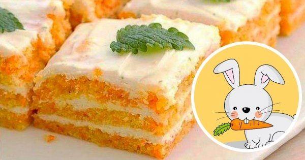 Diētiskā torte bez cukura un miltiem, saldumu un sulīgumu tai dod burkāni. Ja tu ievēro diētu, bet saldo tāpat kārojas, tad šī recepte ir domāta tieši tev.