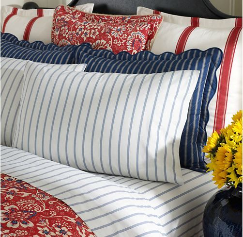 Gallery for red and white paisley bedding - Red white and blue sheets ...