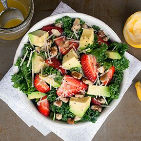 Kale Strawberry and Avocado Salad Recipe spinach detox soup
